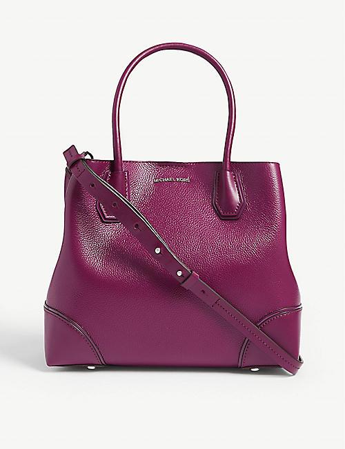 b0e26d7d8577d0 MICHAEL MICHAEL KORS Mercer Gallery medium leather satchel