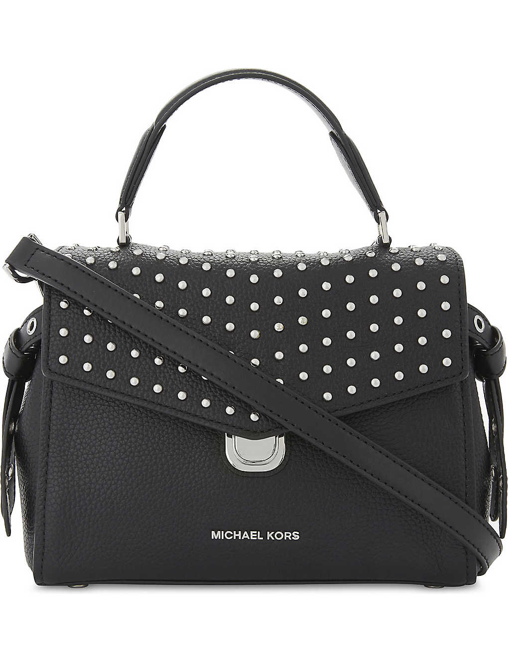 fdf82b21e5b0 MICHAEL MICHAEL KORS - Bristol studded leather satchel bag ...
