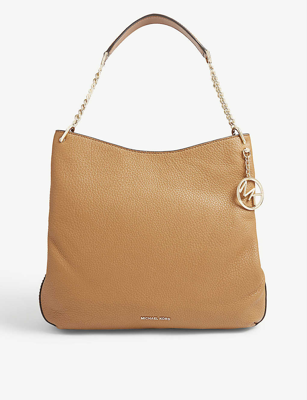 a003095561 MICHAEL MICHAEL KORS - Lillie large grained leather shoulder bag ...