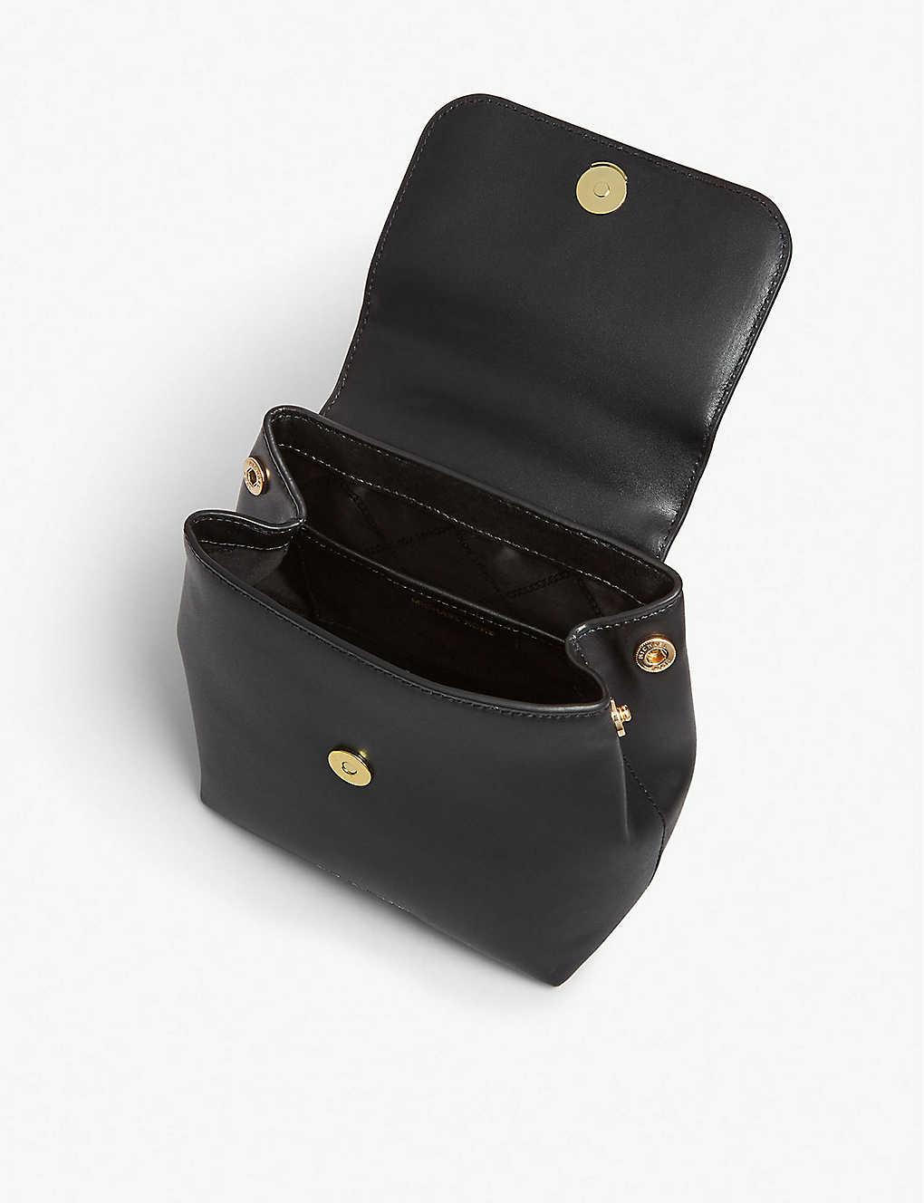 f8b7f0e78a43 MICHAEL MICHAEL KORS - Mott leather backpack   Selfridges.com