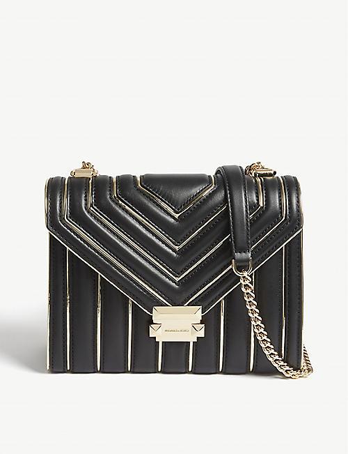 2e385d456b134 MICHAEL MICHAEL KORS Whitney large leather shoulder bag