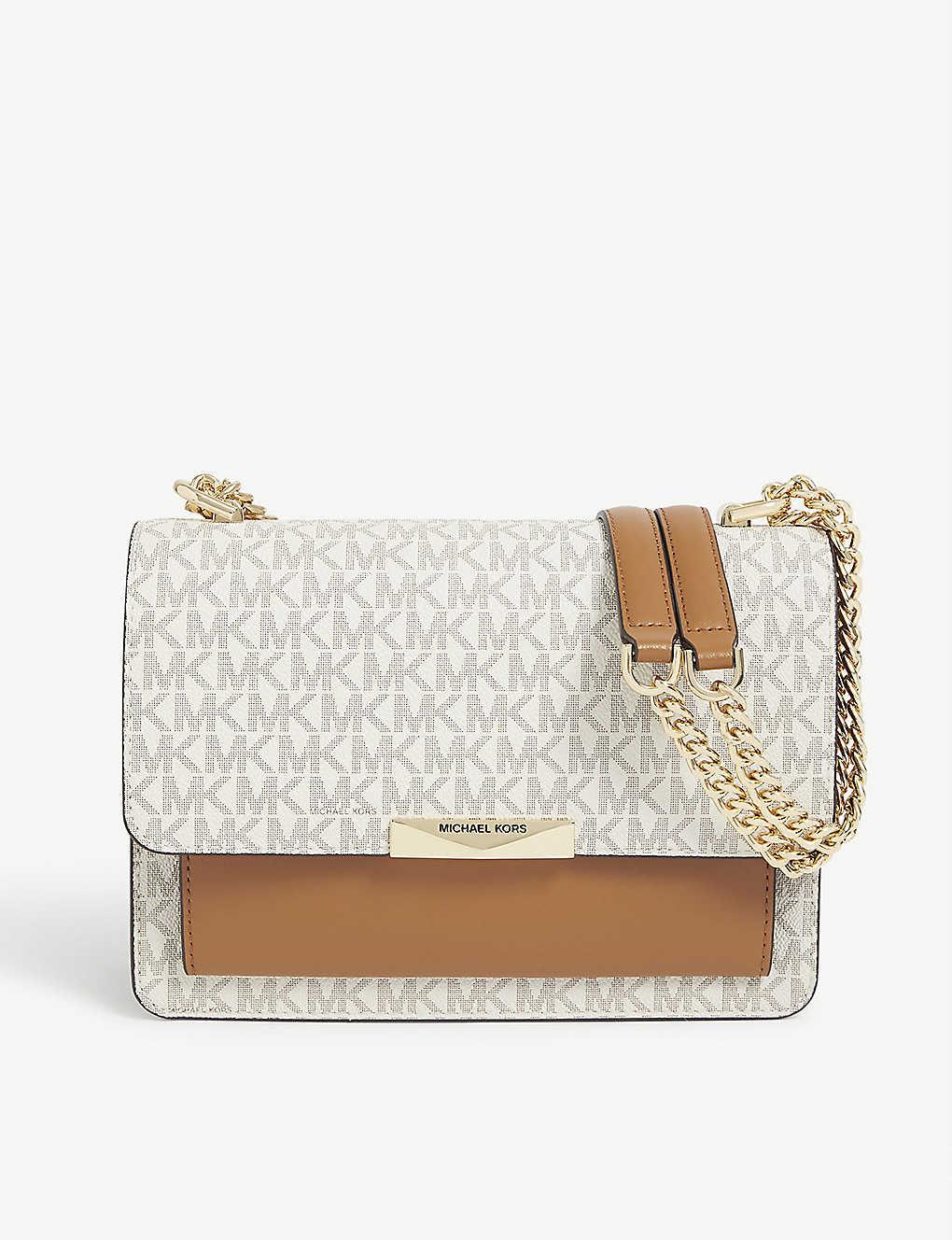 MICHAEL MICHAEL KORS: Jade large leather shoulder bag