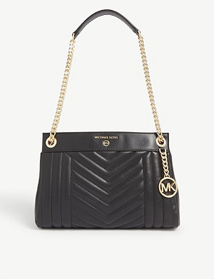 MICHAEL MICHAEL KORS Susan small quilted leather shoulder bag