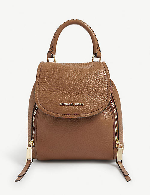 MICHAEL MICHAEL KORS: Viv leather backpack