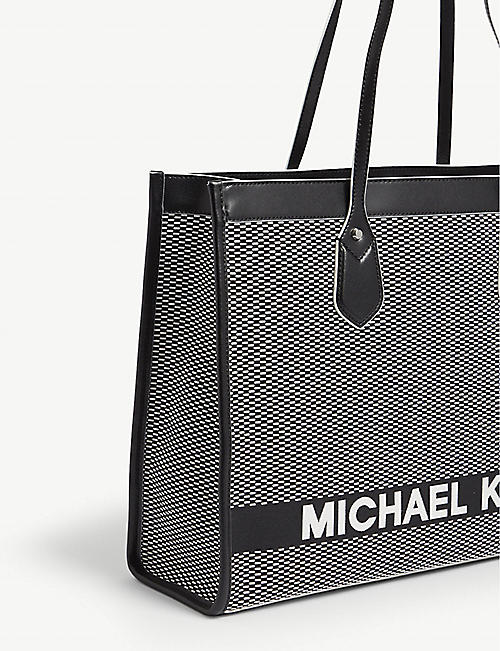MICHAEL MICHAEL KORS Bay large woven tote