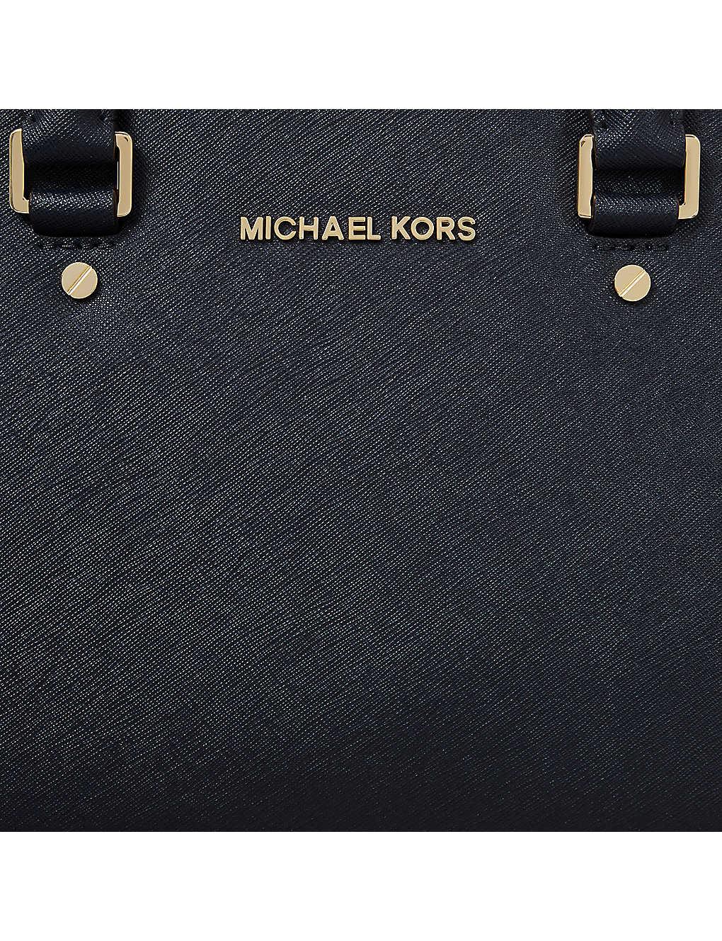 0d212f7a746d MICHAEL MICHAEL KORS - Selma medium Saffiano leather satchel ...