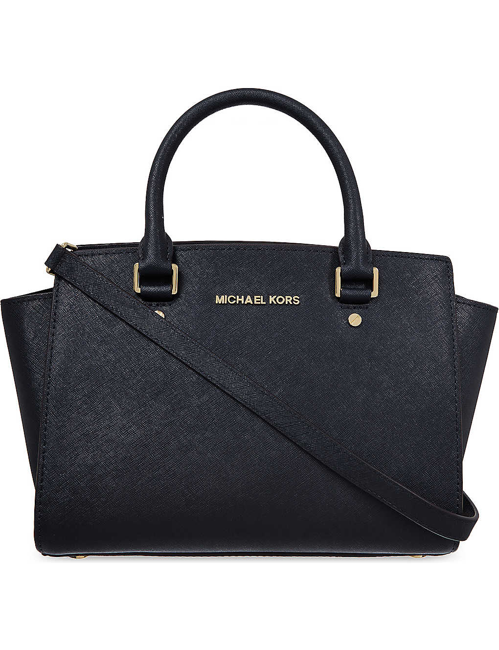 73e2c6056f83 MICHAEL MICHAEL KORS - Selma medium Saffiano leather satchel ...