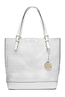 MICHAEL KORS Bridget large leather tote