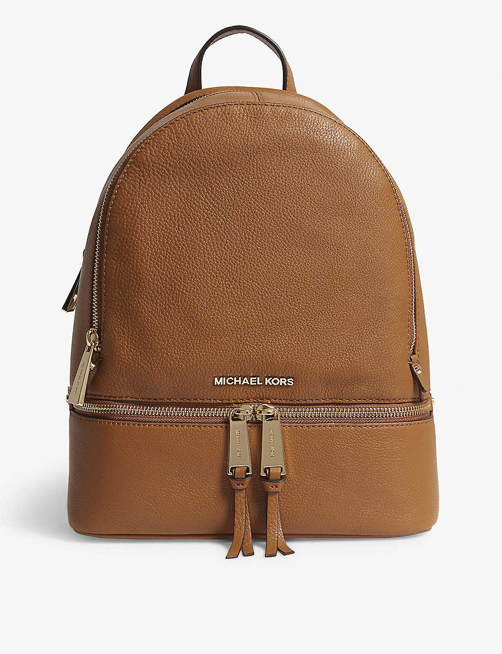 0bdd1ec1dab6 MICHAEL MICHAEL KORS - Rhea medium leather backpack | Selfridges.com