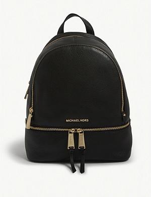 6f551c407f81 MICHAEL MICHAEL KORS - Rhea medium leather backpack