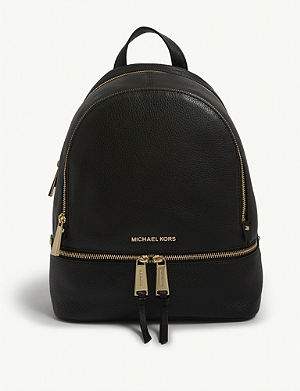 cd782dcaca1d MICHAEL MICHAEL KORS - Rhea medium leather backpack