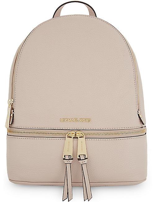 c758344bf54317 MICHAEL MICHAEL KORS - Rhea medium leather backpack | Selfridges.com