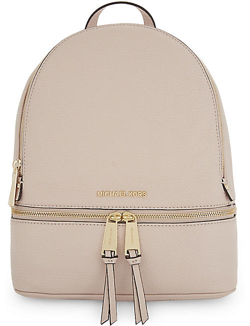 6338a69831d MICHAEL MICHAEL KORS Rhea medium leather backpack