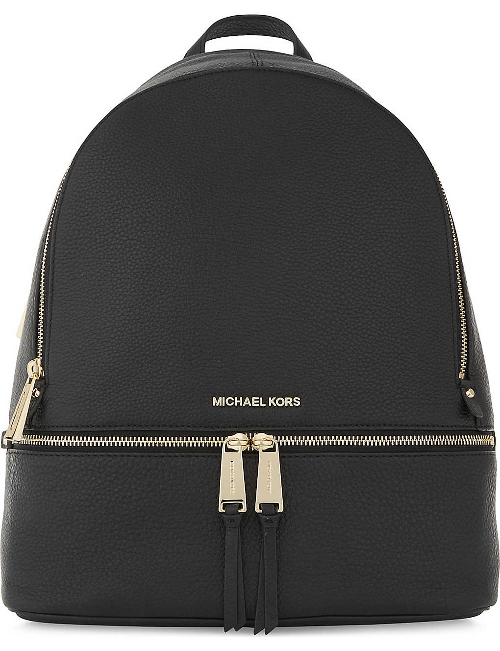 db3edc212909 MICHAEL MICHAEL KORS - Rhea large grained leather backpack ...