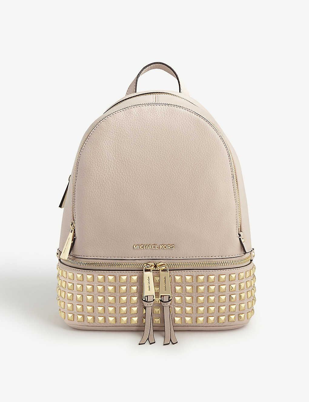 5263605800463 MICHAEL MICHAEL KORS - Rhea leather backpack
