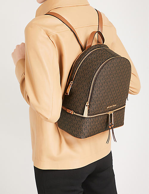 094c99ba9b43 MICHAEL MICHAEL KORS Rhea medium leather backpack