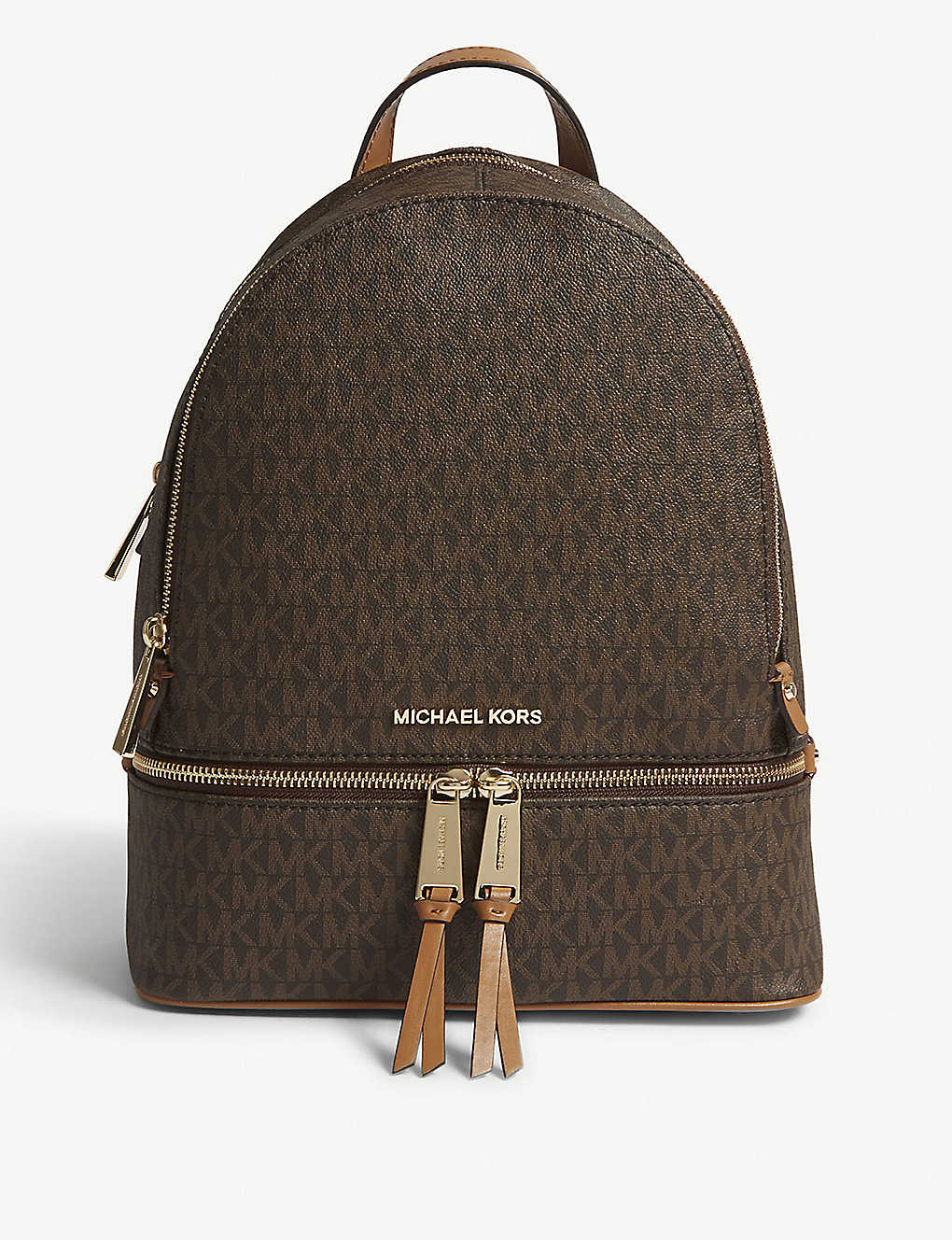 caa87c7f9755 MICHAEL MICHAEL KORS - Rhea medium leather backpack | Selfridges.com