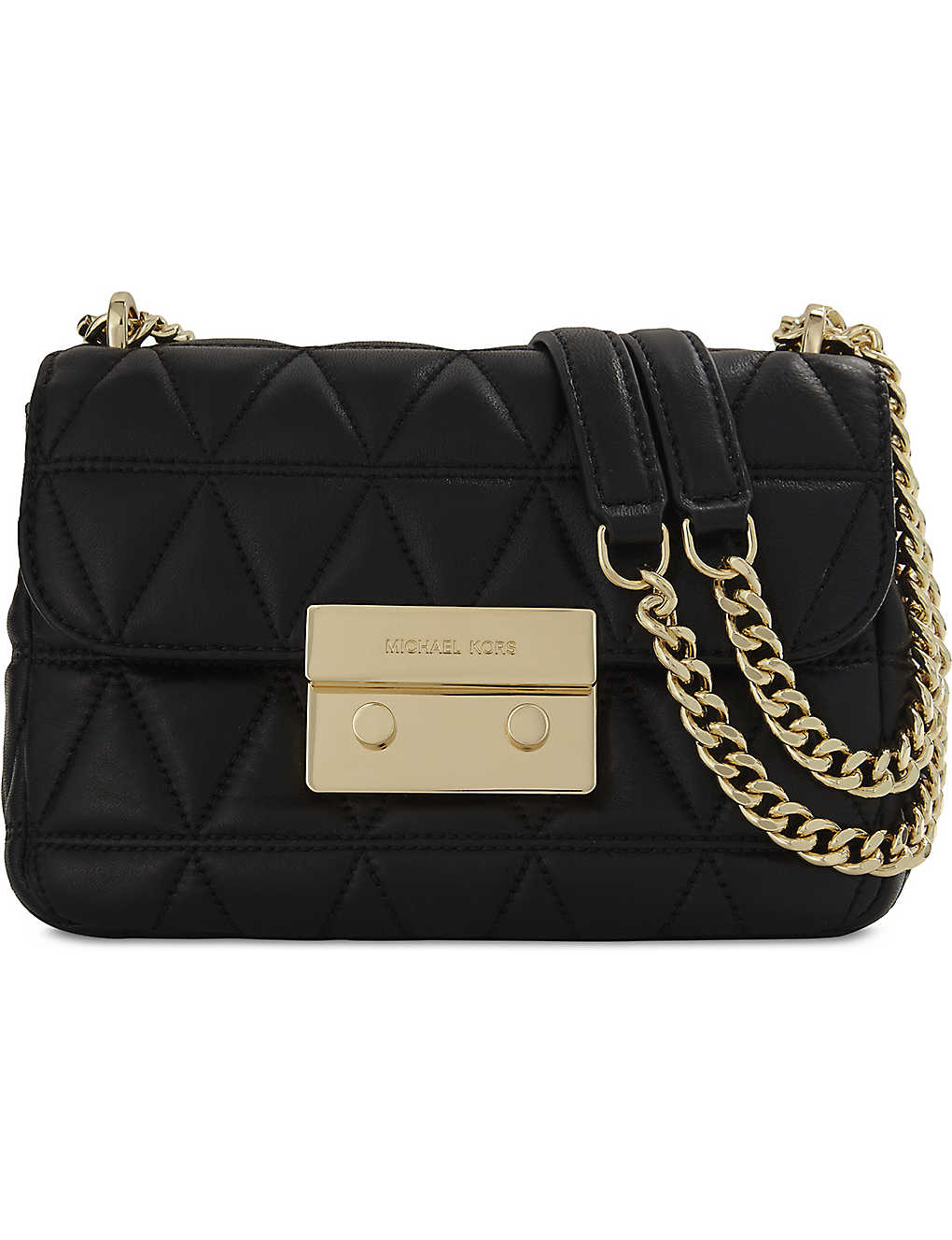 5776b5cfa551 MICHAEL MICHAEL KORS - Sloan small quilted leather cross-body bag ...