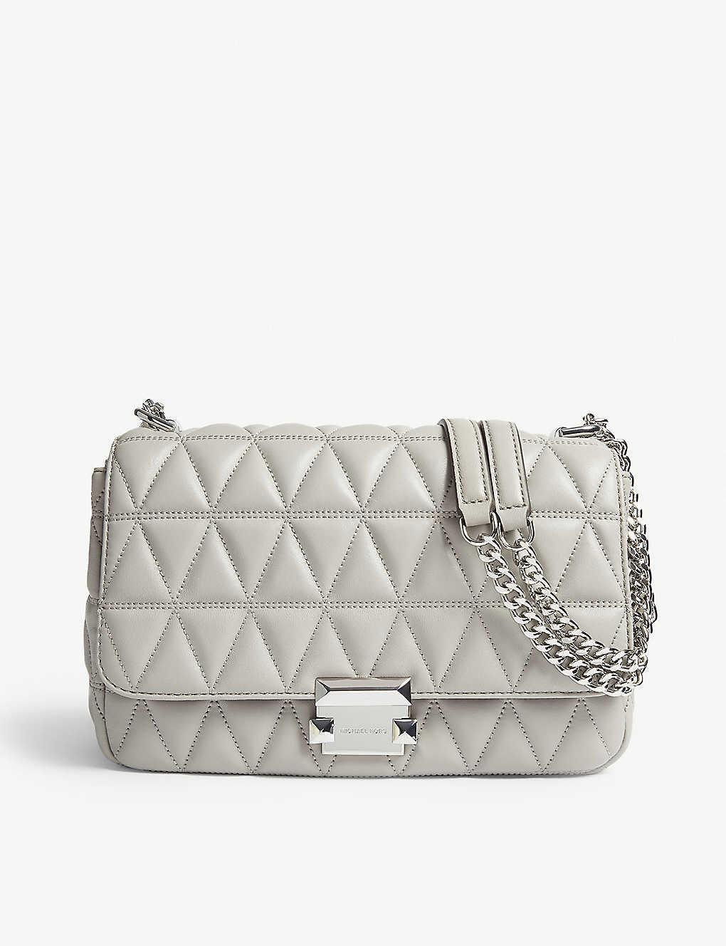 MICHAEL MICHAEL KORS: Sloan large quilted shoulder bag