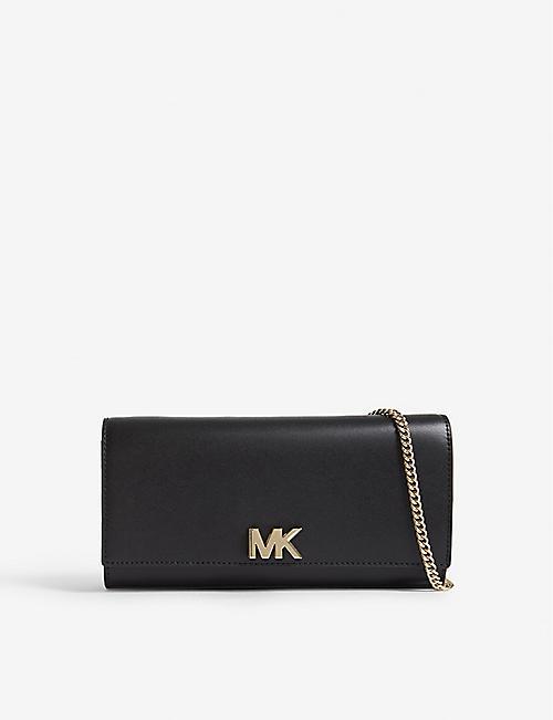 4c29c8f8f3e07 MICHAEL MICHAEL KORS - Mott leather clutch