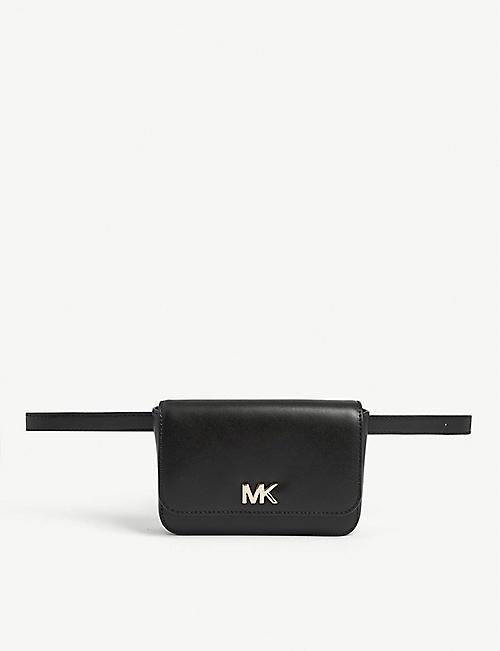 b6ca8b244b8cd MICHAEL MICHAEL KORS - Mott leather belt bag