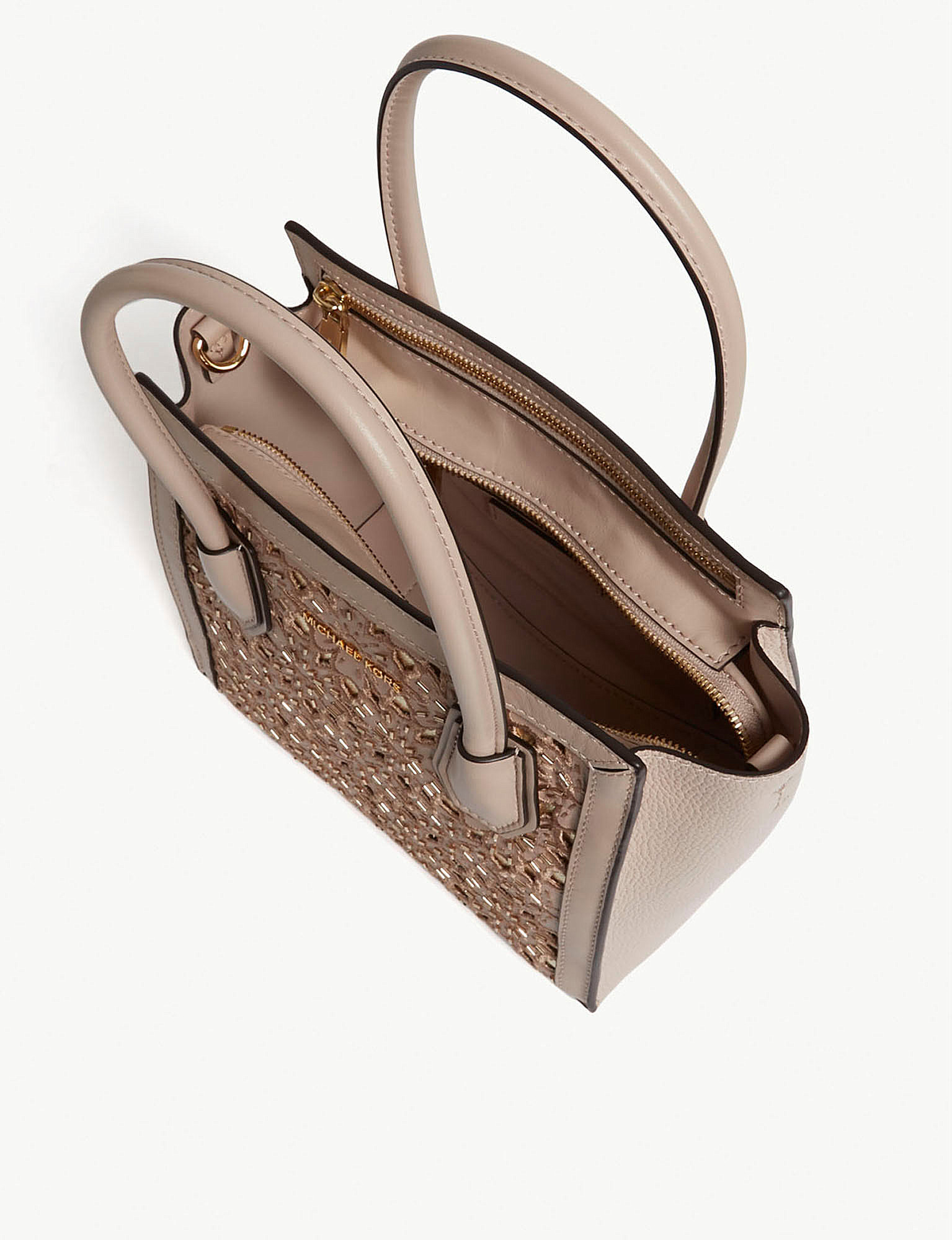 b994f57ccd8d MICHAEL MICHAEL KORS - Mercer medium floral leather messenger bag ...
