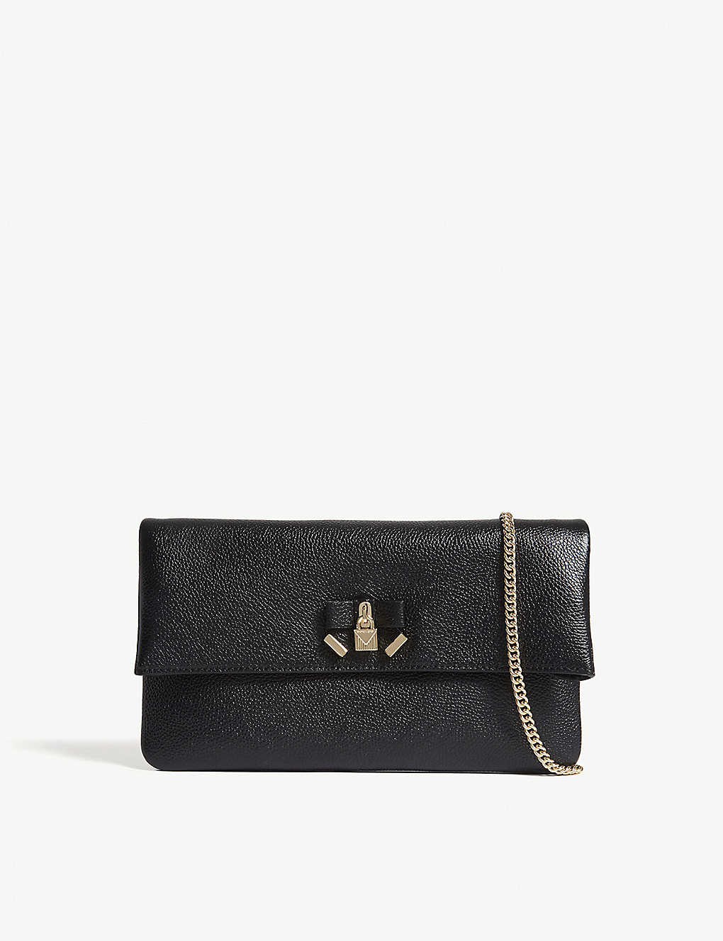 a7d10bc8da MICHAEL MICHAEL KORS - Everly leather clutch bag | Selfridges.com