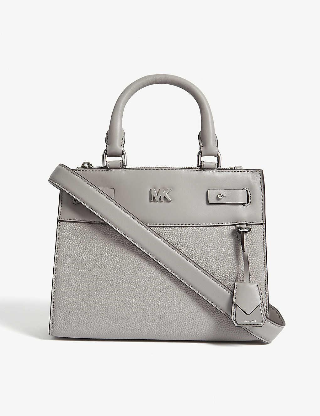 39066ca18048 MICHAEL MICHAEL KORS - Reagan leather mini messenger bag ...
