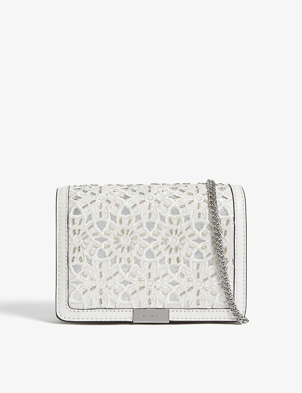9a0f2f0e67 MICHAEL MICHAEL KORS - Jade medium floral leather clutch ...
