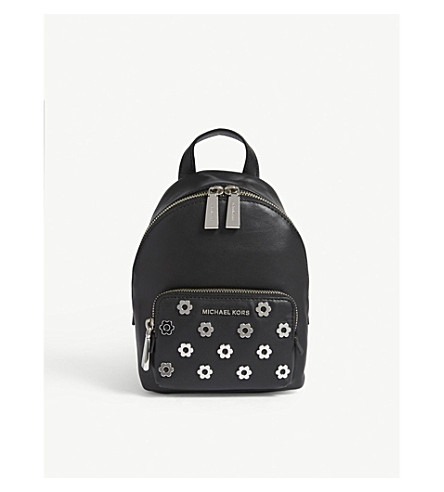 73d4b58dffb8 ... new zealand michael michael kors wythe extra small leather backpack  black. previousnext 7d6d5 f1308 ...