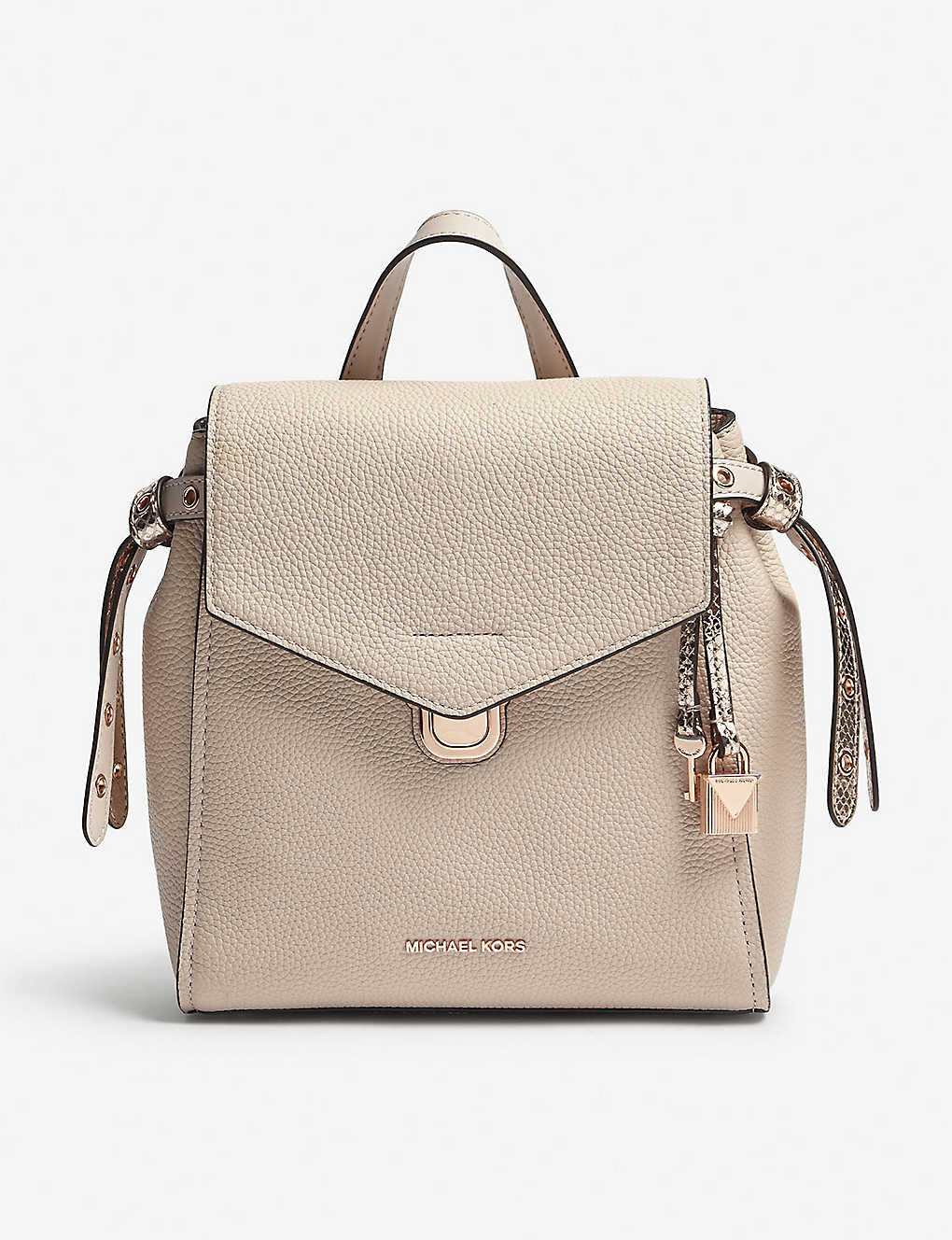 e038f3d30f45 MICHAEL MICHAEL KORS - Bristol small leather backpack | Selfridges.com