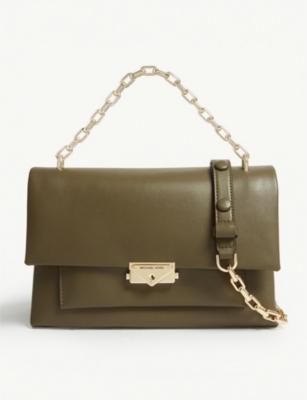 9f64e8c3b9d4 MICHAEL MICHAEL KORS - Cece large leather shoulder bag | Selfridges.com