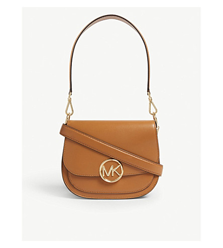 a03f24d21e0e MICHAEL MICHAEL KORS - Lillie leather saddle bag | Selfridges.com