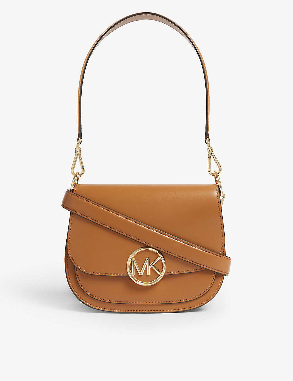 5d54a97745094a MICHAEL MICHAEL KORS - Lillie leather saddle bag | Selfridges.com