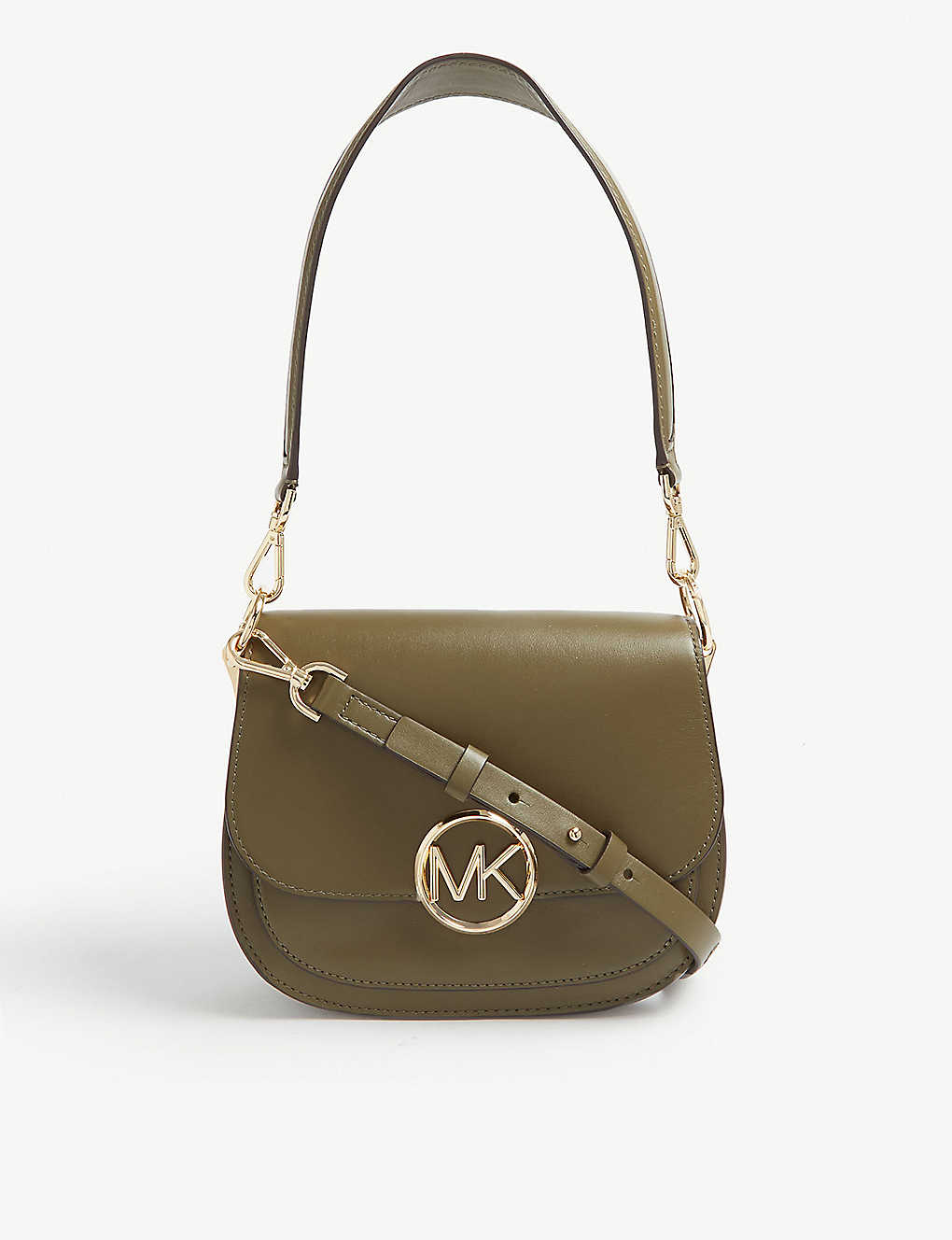294ea4b660842e MICHAEL MICHAEL KORS - Lillie medium leather saddle bag | Selfridges.com
