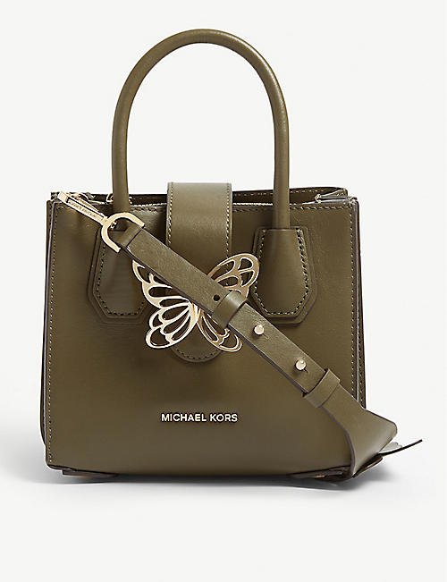 ec1458898eac MICHAEL MICHAEL KORS Mercer butterfly leather tote