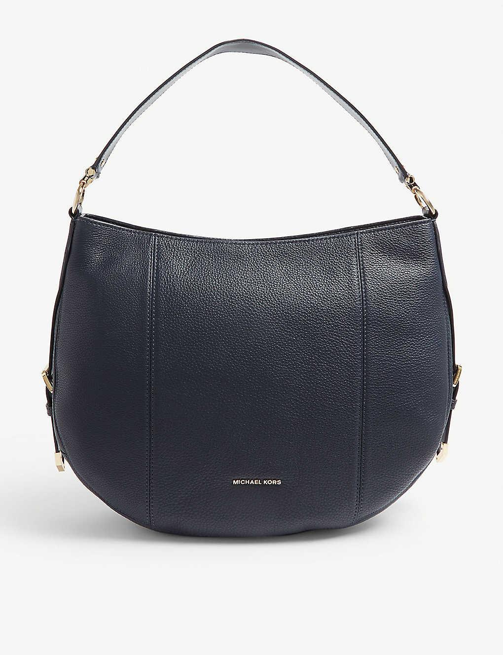 e636c30a0854 MICHAEL MICHAEL KORS - Brooke large leather hobo bag   Selfridges.com