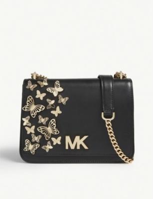 6828e9356ad5a4 MICHAEL MICHAEL KORS - Mott butterfly leather cross-body bag |  Selfridges.com