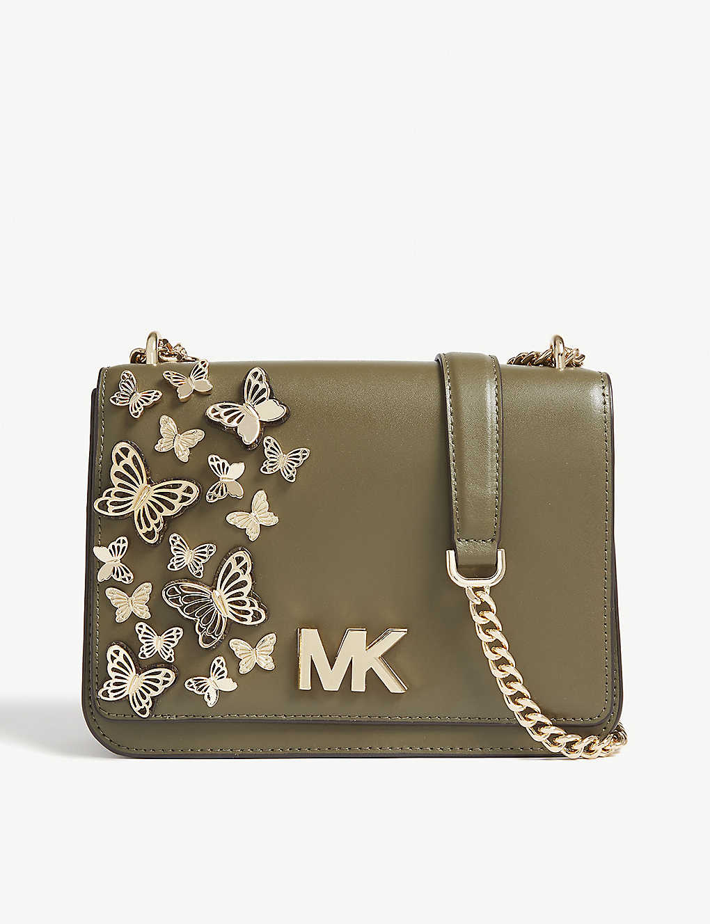 cc3f94b30ac2 MICHAEL MICHAEL KORS - Mott butterfly leather cross-body bag ...