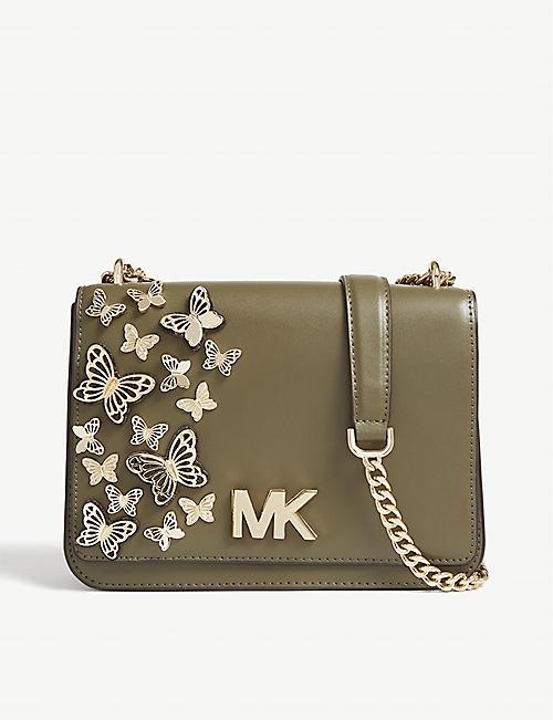 d8dd19f92b53 MICHAEL MICHAEL KORS Mott butterfly leather cross-body bag