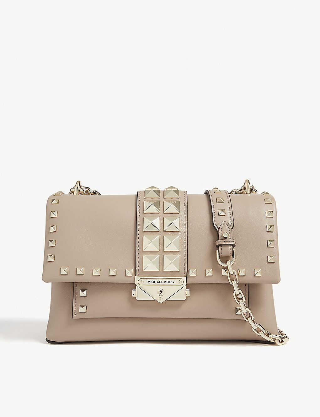 92b23ef712f9 MICHAEL MICHAEL KORS - Studded Cece shoulder bag | Selfridges.com
