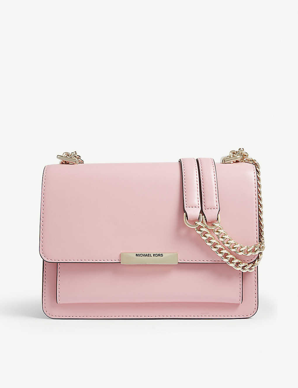 7d6222290c1c8d MICHAEL MICHAEL KORS - Jade leather shoulder bag | Selfridges.com