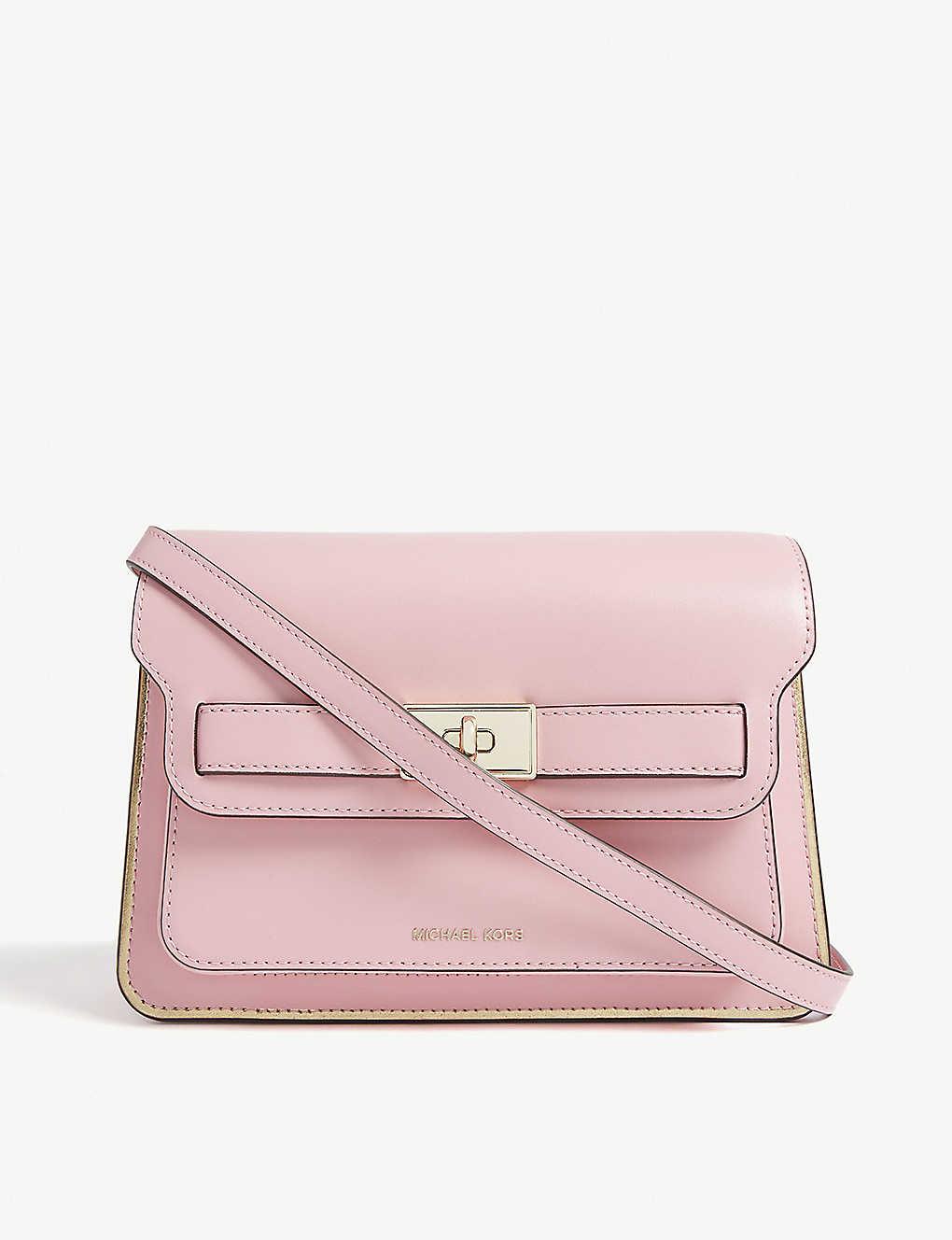 a7f38bf0a395 MICHAEL MICHAEL KORS - Tatiana mini leather shoulder bag ...