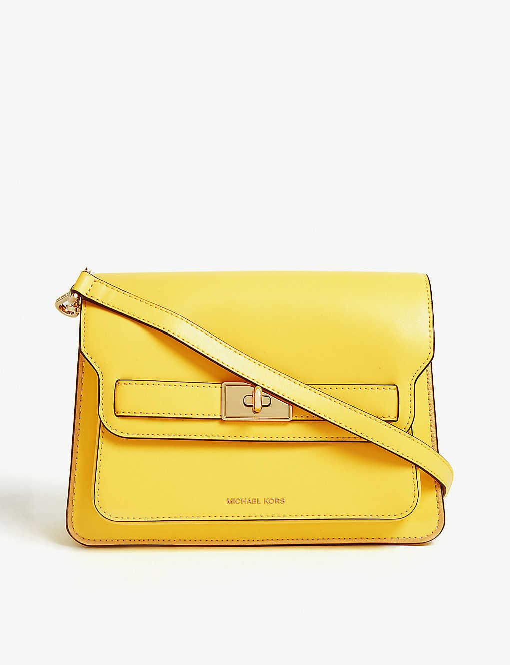 72858c0eb87127 MICHAEL MICHAEL KORS - Tatiana mini leather shoulder bag ...