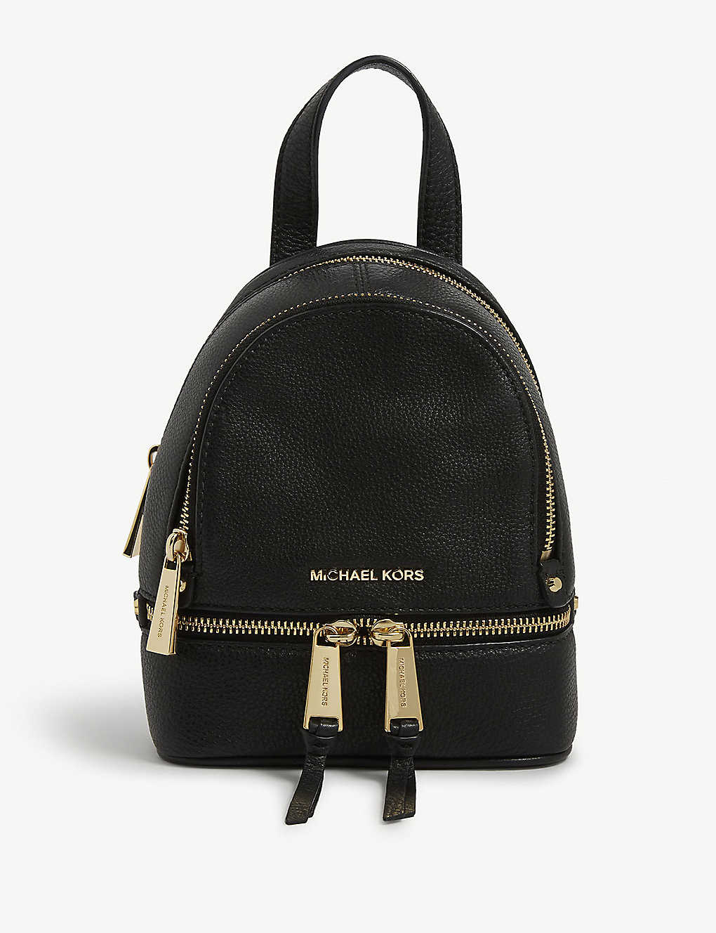 2ddf3c625d4d MICHAEL MICHAEL KORS - Rhea extra-small leather backpack ...