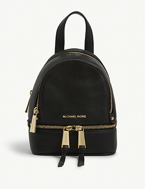 05dfd1cf09ad1 MICHAEL MICHAEL KORS · Rhea extra-small leather backpack