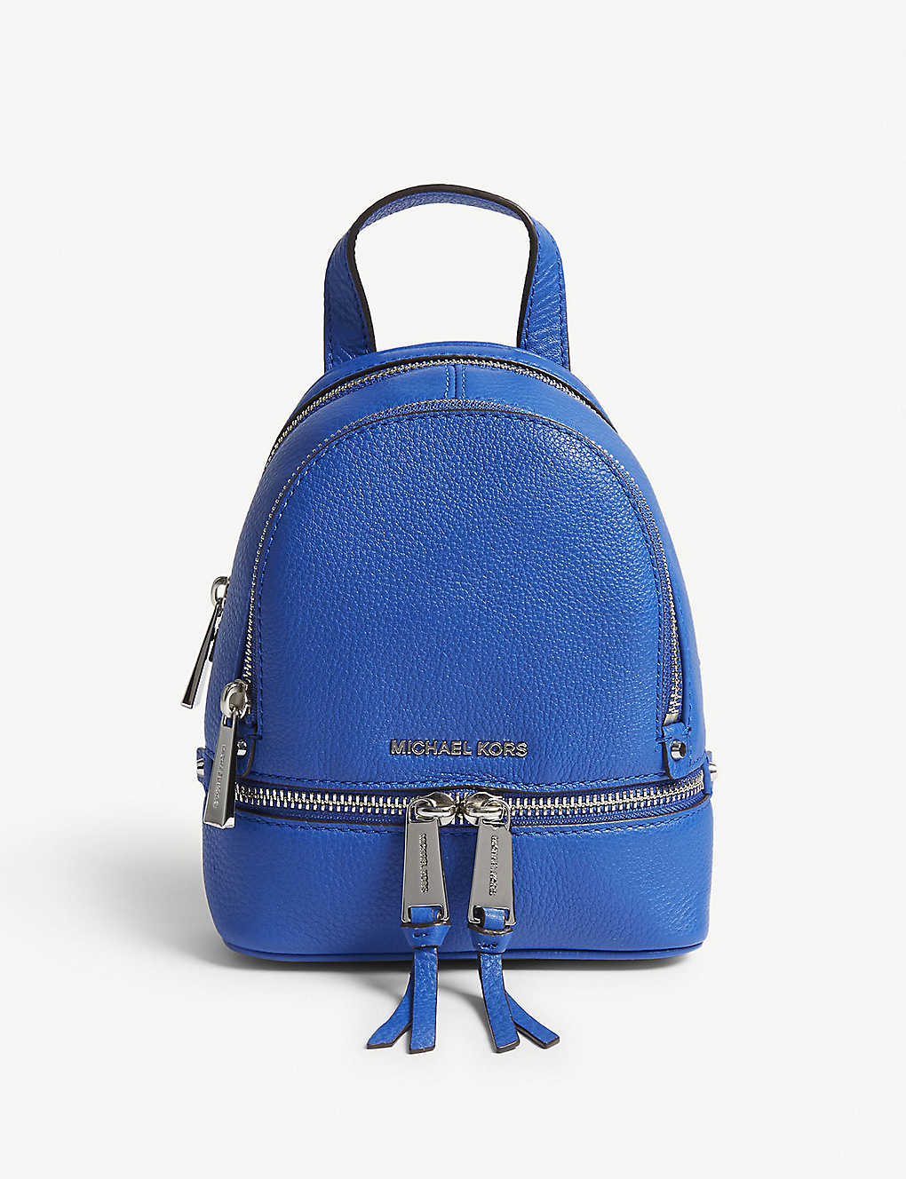 c80d07e1265c MICHAEL MICHAEL KORS - Rhea extra-small grained leather backpack ...