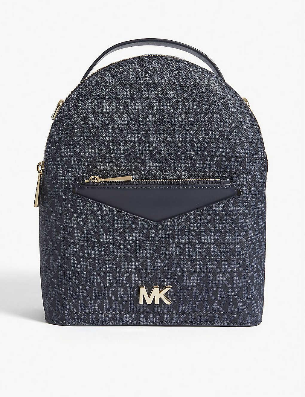 2dc5461ba50e MICHAEL MICHAEL KORS - Jessa small leather cross-body backpack ...