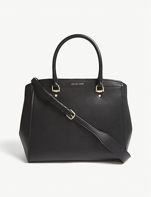 daab3b52463f MICHAEL MICHAEL KORS - Benning large leather satchel