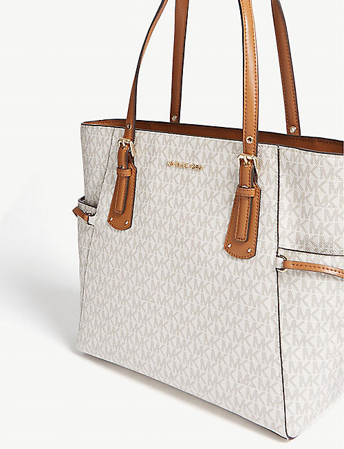 fff66d1f99af MICHAEL MICHAEL KORS Voyager small coated canvas tote · Quick Shop